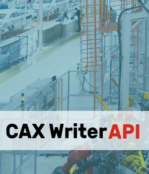 CAX writer API